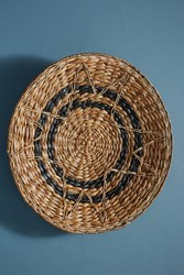 Anthropologie Antigua Hanging Basket Black Motif