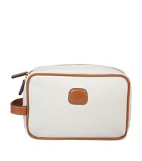 Bric's Firenze Traditional Wash Bag White