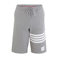 Thom Browne 4 Bar Shorts Light Grey
