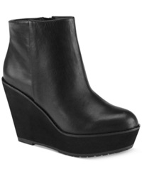 Shellys London Barvinkova Platform Wedge Booties Women's Shoes