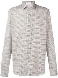 Etro Printed Shirt White