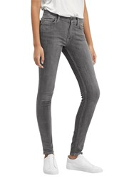 French Connection Skinny Stretch Rebound Denim Jeans Charcoal