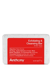Anthony Logistics For Men Exfoliating And Cleansing Bar Soap Transparent