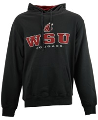 Colosseum Men's Washington State Cougars 3 Stack Hoodie Charcoal