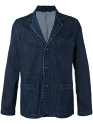 Societe Anonyme 'Work' Denim Blazer Blue