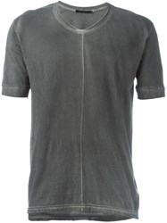 The Viridi Anne The Viridi Anne V Neck T Shirt Grey