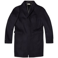 Dries Van Noten Ruben City Coat Navy