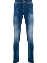 Dondup Light Wash Slim Fit Jeans 60