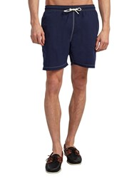 Hackett London Solid Swim Shorts Cobalt