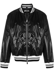 Just Cavalli Lightweight Bomber Jacket Black