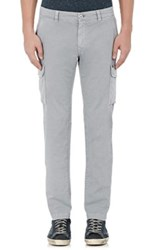 Mason's Men's Slim Cargo Pants Grey