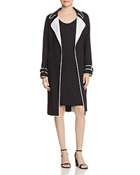 Boss Cosanna Piped Open Trench Coat Open Misc