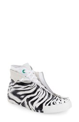 Women's Converse Chuck Taylor All Star 'Animal Print Shroud' High Top Sneaker White Black