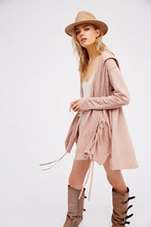 Free People Womens Sheer La Bouf Cardigan