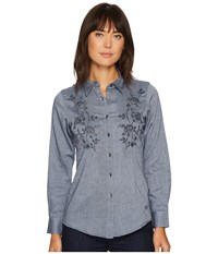 Ariat Sierra Button Shirt Darkest Indigo Women's Long Sleeve Button Up Blue