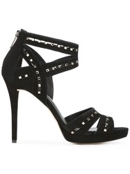 Michael Michael Kors Studded Sandals Black