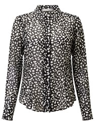 Marella Zuai Printed Shirt Black