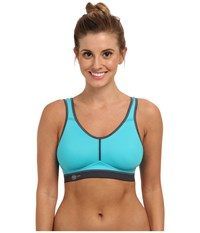Anita Active Firm Support Sport Bra 5521 Peacock Anthracite Women's Bra Blue