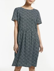 John Lewis Collection Weekend By Sketchy Heart Dress Black White