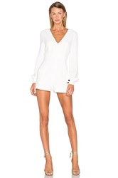 Alexis Kourtney Romper White