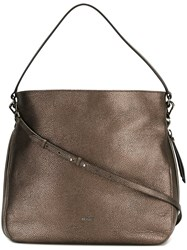 Hogan Metallic Shoulder Bag