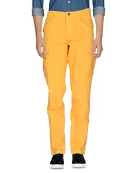 Rrd Trousers Casual Trousers Yellow