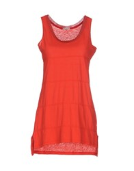 Pennyblack Topwear Vests Women Red