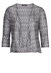 Vera Mont Short Unlined Knitted Jacket Metallic
