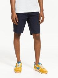 John Lewis And Co. Covino Soft Touch Chino Shorts Navy
