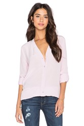 Vince Vee Button Down Blouse Lavender