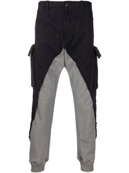 Paul And Shark Contrast Cargo Trousers 60