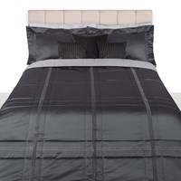 Pratesi Tre Righe Lame Light Bedspread Platinum