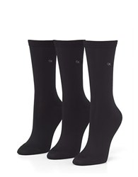 Calvin Klein 5 Pack Crew Socks Black