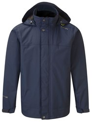 Tog 24 Quasar Milatex Full Zip Windbreaker Mid Blue