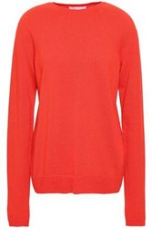 Duffy Cashmere Sweater Tomato Red