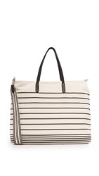 Splendid Emerald Bay Tote Black Stripe