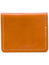 Filson Embossed Logo Wallet Yellow Orange