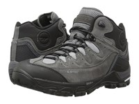 Hi Tec Ox Belmont Mid I Waterproof Gull Grey Black Goblin Blue Men's Shoes Brown