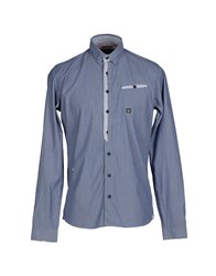 Duck And Cover Shirts Shirts Men Slate Blue
