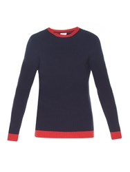 Loewe Bi Colour Chunky Knit Sweater