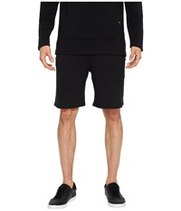 Threads For Thought 4 Feather Fleece Drawstring Shorts Black