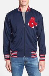 Men's Mitchell And Ness 'Authentic Bp Boston Red Sox' Double Knit Baseball Jacket