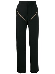 Y Project Front Slash Trousers Black