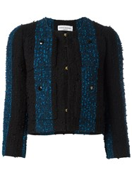 Sonia Rykiel Short Tweed Jacket Black