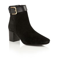 Ravel Moore Ankle Boots Black Suede