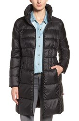 Bernardo Women's Packable Coat With Down And Primaloft Fill