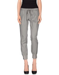 Manila Grace Trousers Casual Trousers Women Grey