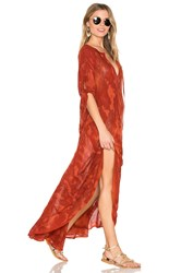 Blue Life St. Barts Caftan Red
