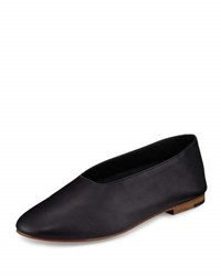 Vince Maxwell Leather Flat Black