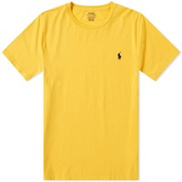 Polo Ralph Lauren Classic Crew Neck Tee Yellow